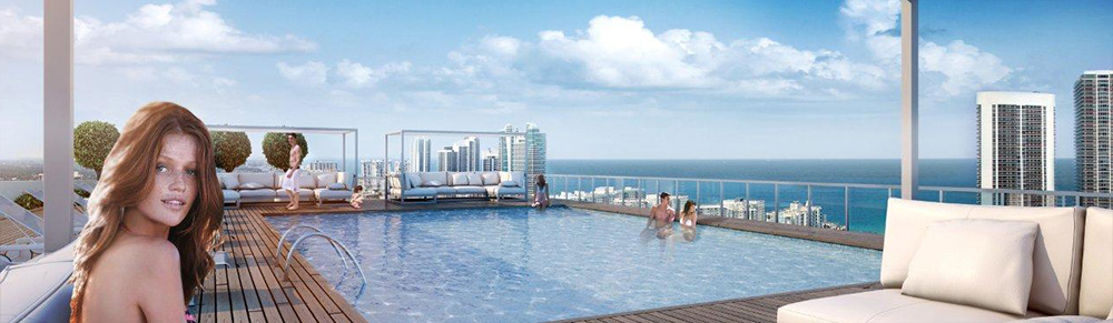 BeachWalk Roof Pool